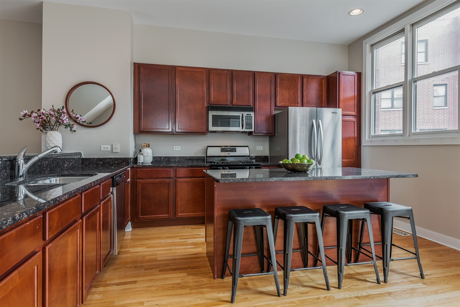 Real Estate Photography - 2314 W Wolfram, Chicago, IL, 60618 - Kitchen