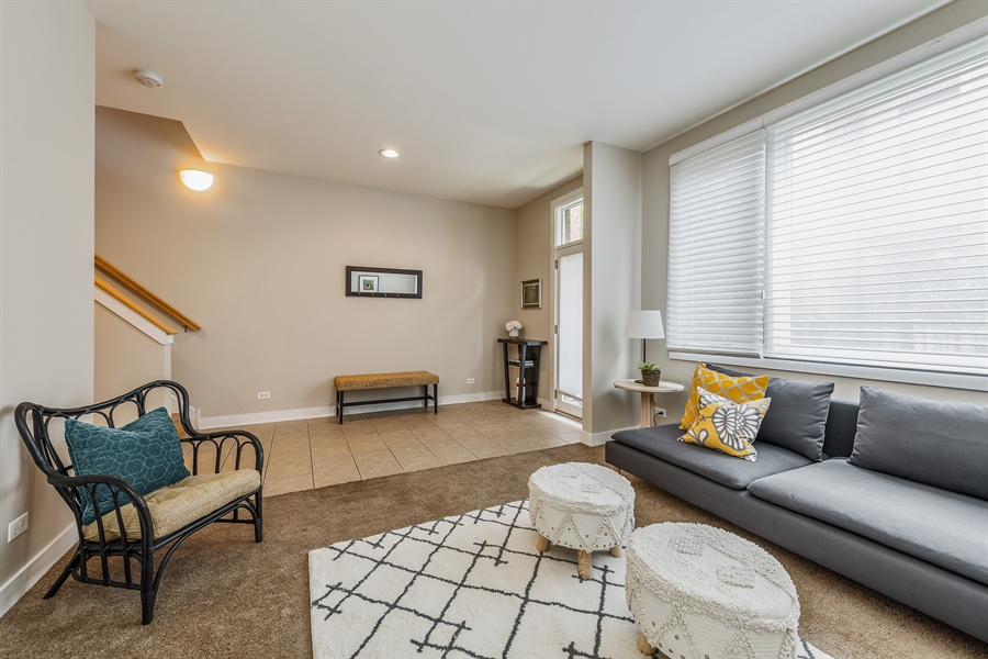 Real Estate Photography - 2314 W Wolfram, Chicago, IL, 60618 - Family Room