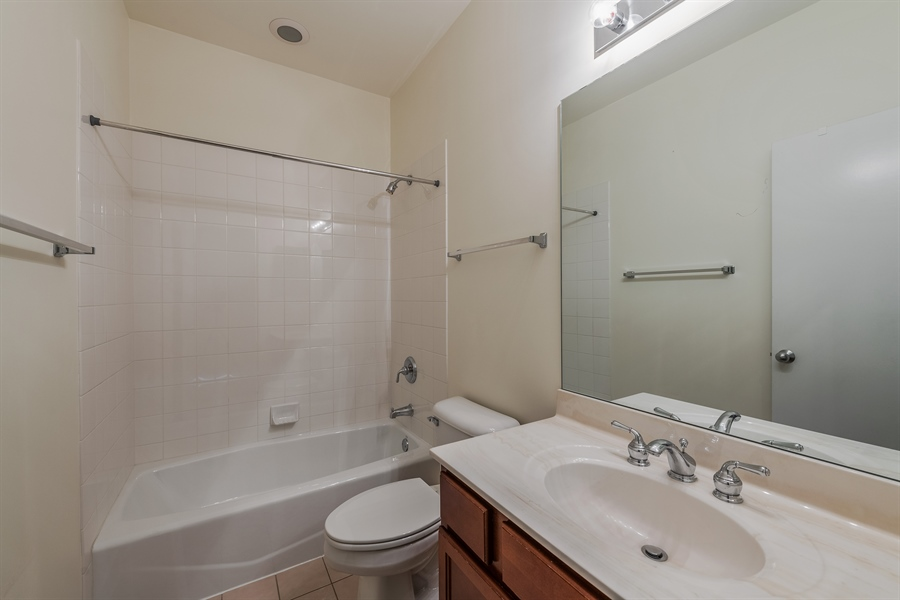 Real Estate Photography - 2314 W Wolfram, Chicago, IL, 60618 - 2nd Bathroom