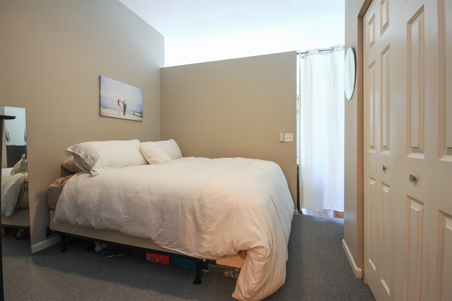 Real Estate Photography - 340 W Superior, unit 1602, Chicago, IL, 60654 - Master Bedroom