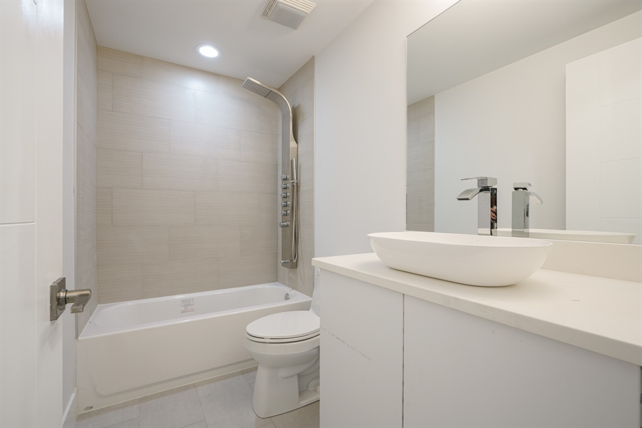 Real Estate Photography - 1806 N Mozart, Chicago, IL, 60647 - 3rd Bathroom