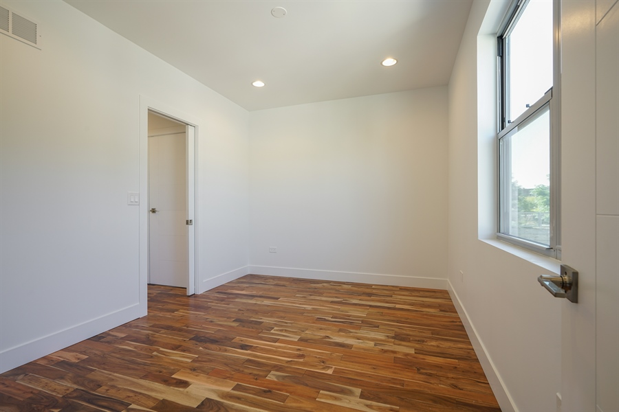 Real Estate Photography - 1806 N Mozart, Chicago, IL, 60647 - 3rd Bedroom