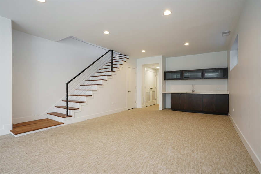 Real Estate Photography - 1806 N Mozart, Chicago, IL, 60647 - Lower Level