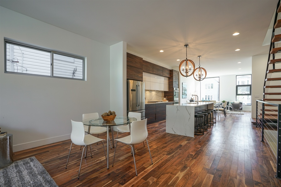 Real Estate Photography - 1806 N Mozart, Chicago, IL, 60647 - Dining Area