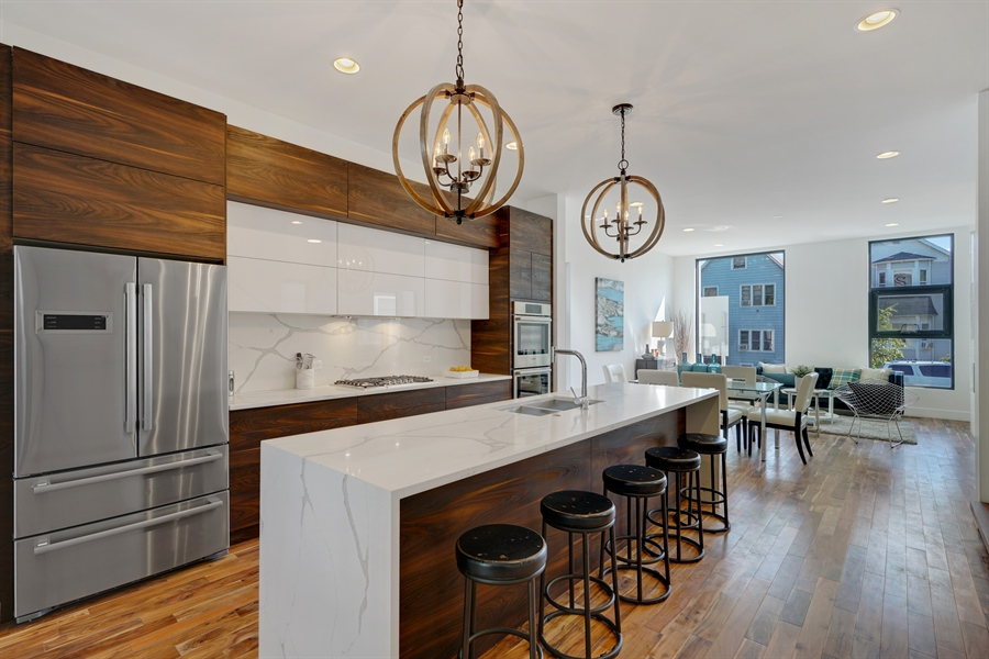 Real Estate Photography - 1806 N Mozart, Chicago, IL, 60647 - Kitchen