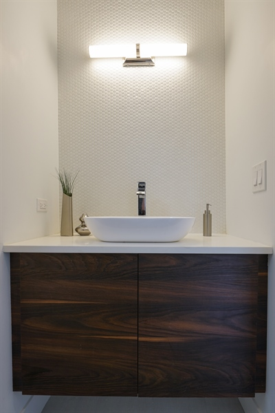 Real Estate Photography - 1806 N Mozart, Chicago, IL, 60647 - Bathroom