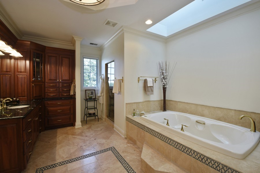 Real Estate Photography - 20580 W High Ridge Drive, Kildeer, IL, 60047 - Master Bathroom