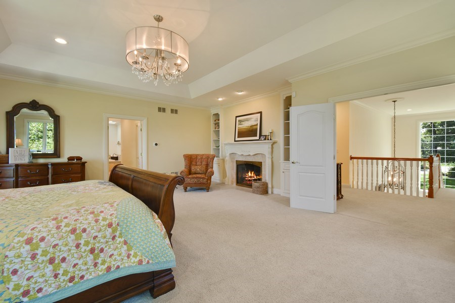 Real Estate Photography - 20580 W High Ridge Drive, Kildeer, IL, 60047 - Master Bedroom