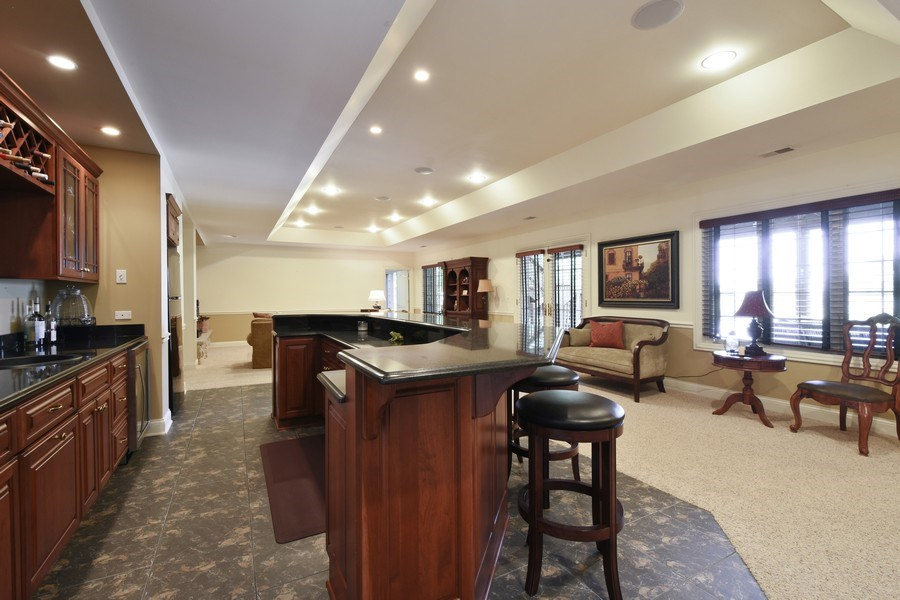 Real Estate Photography - 20580 W High Ridge Drive, Kildeer, IL, 60047 - Basement