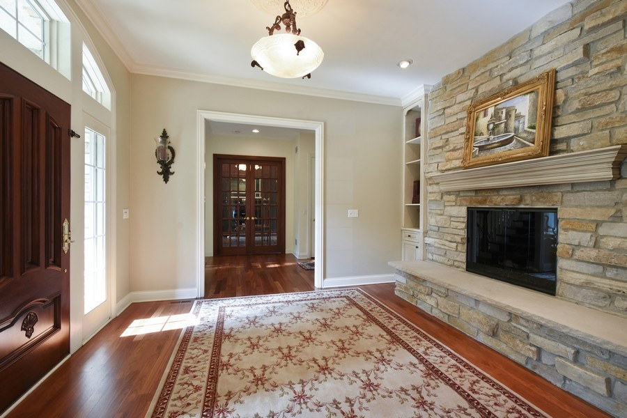 Real Estate Photography - 20580 W High Ridge Drive, Kildeer, IL, 60047 - Foyer