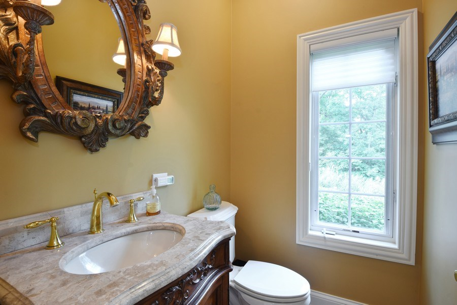 Real Estate Photography - 20580 W High Ridge Drive, Kildeer, IL, 60047 - Half Bath