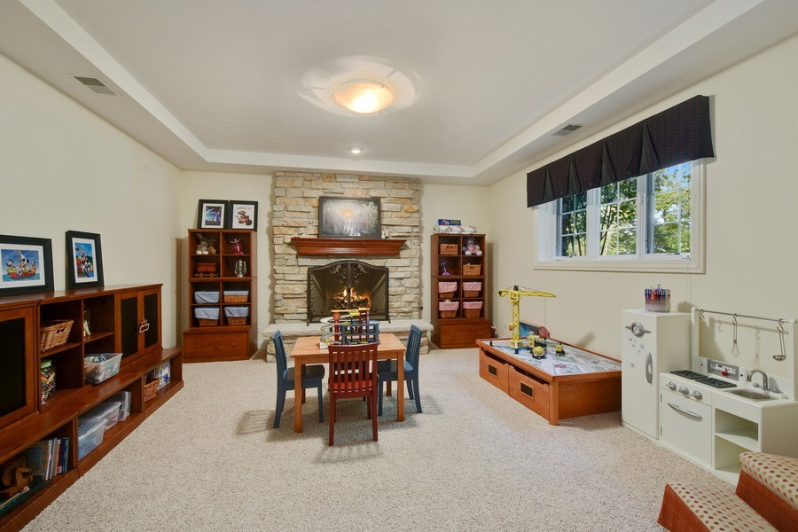 Real Estate Photography - 20580 W High Ridge Drive, Kildeer, IL, 60047 - Play / Recreational Room