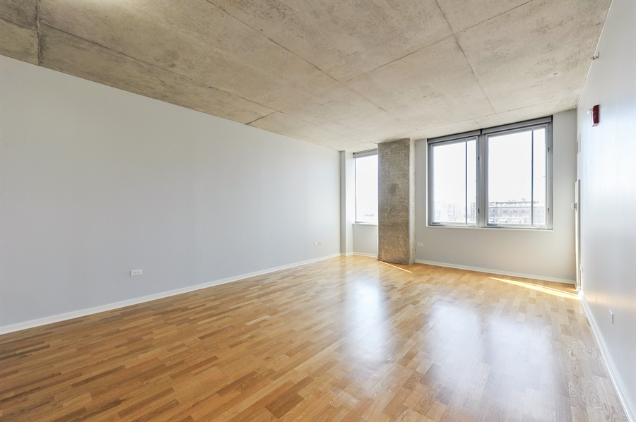 Real Estate Photography - 659 W Randolph St, Unit 712, Chicago, IL, 60661 - Living Room