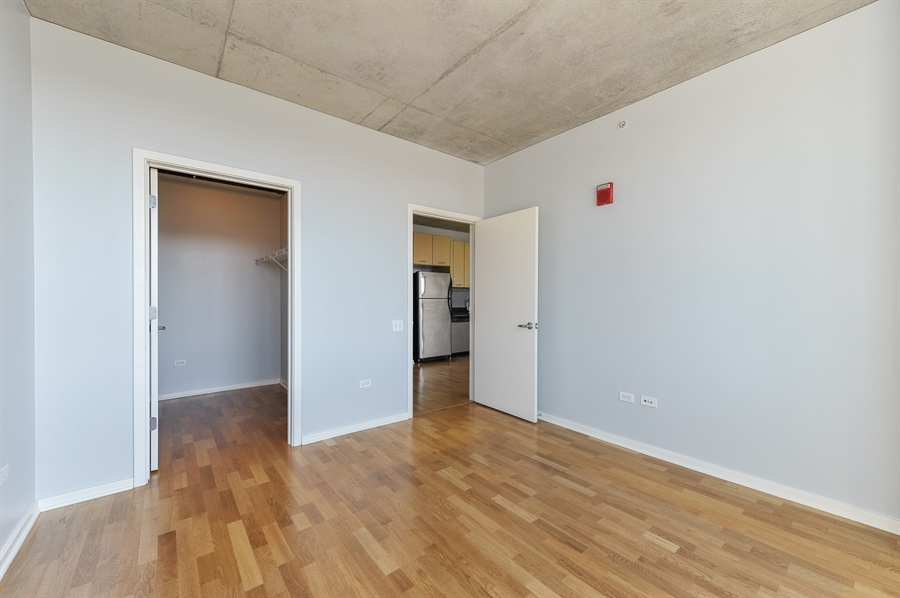 Real Estate Photography - 659 W Randolph St, Unit 712, Chicago, IL, 60661 - Master Bedroom
