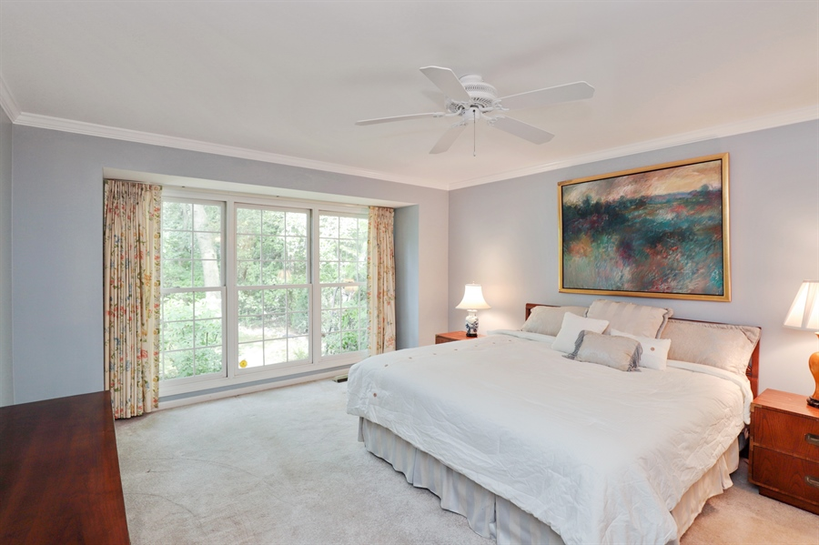 Real Estate Photography - 2 Warrington Drive, Lake Bluff, IL, 60044 - Master Bedroom