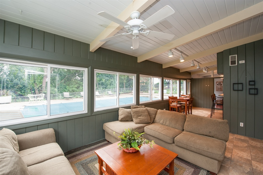 Real Estate Photography - 40105 97th St, Genoa City, WI, 53128 - Sun Room