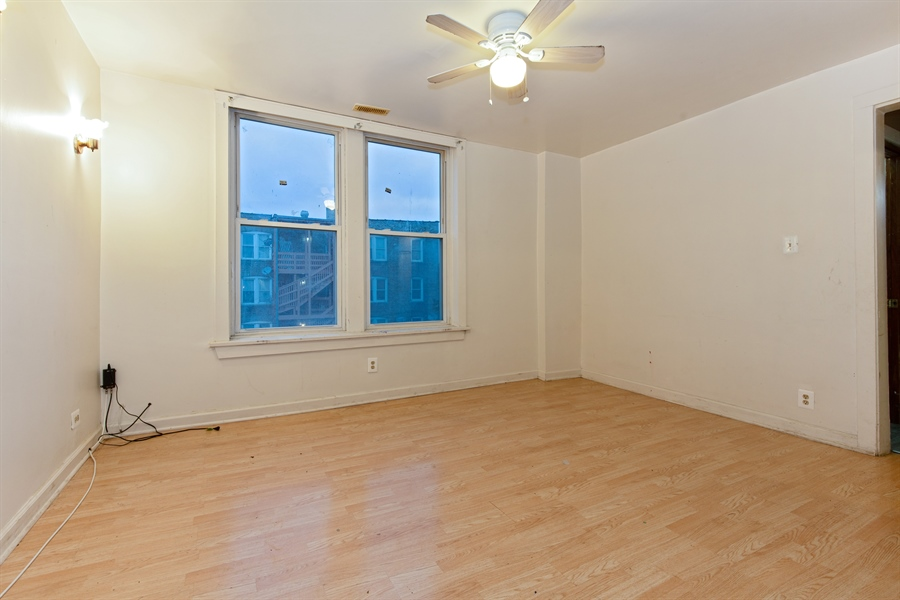 Real Estate Photography - 1815 S Avers, Chicago, IL, 60623 - Living Room