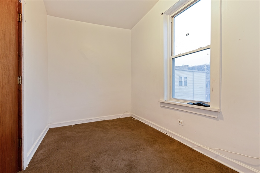 Real Estate Photography - 1815 S Avers, Chicago, IL, 60623 - Bedroom