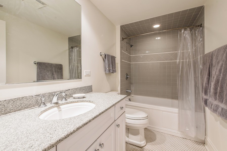 Real Estate Photography - 1623 Washington Ave, Wilmette, IL, 60091 - 3rd Bathroom