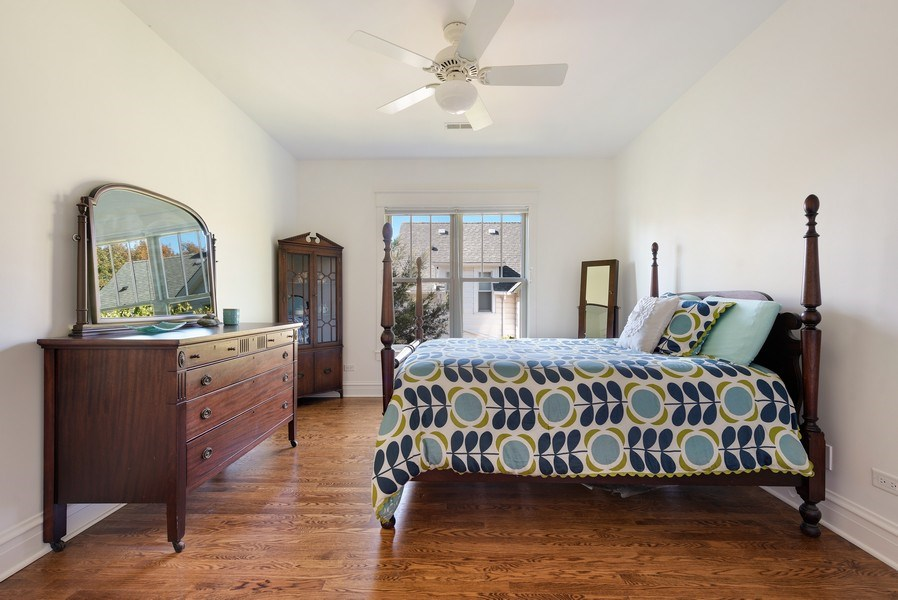 Real Estate Photography - 1623 Washington Ave, Wilmette, IL, 60091 - 3rd Bedroom