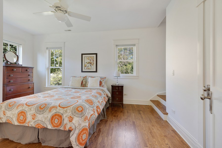 Real Estate Photography - 1623 Washington Ave, Wilmette, IL, 60091 - 4th Bedroom