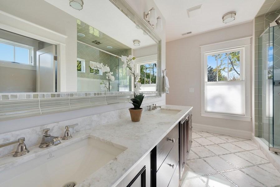 Real Estate Photography - 1623 Washington Ave, Wilmette, IL, 60091 - Master Bathroom