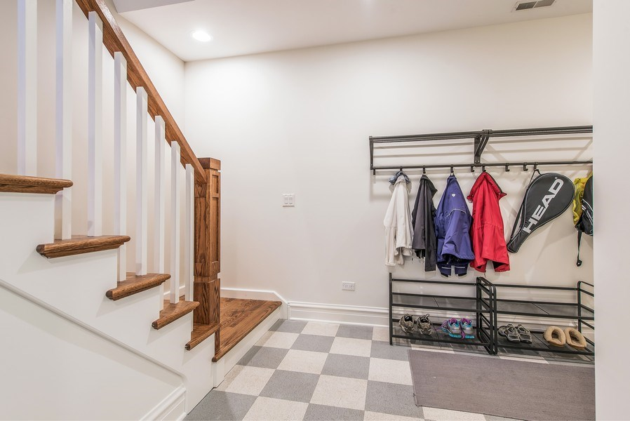 Real Estate Photography - 1623 Washington Ave, Wilmette, IL, 60091 - Mudroom