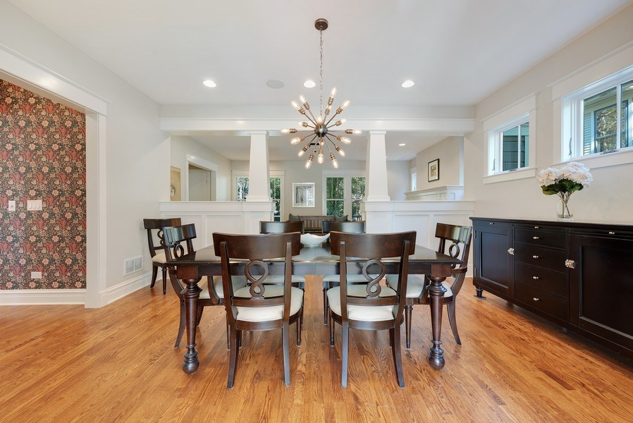 Real Estate Photography - 1623 Washington Ave, Wilmette, IL, 60091 - Dining Room