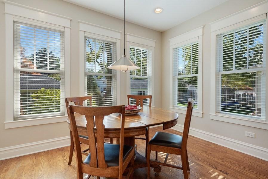 Real Estate Photography - 1623 Washington Ave, Wilmette, IL, 60091 - Breakfast Area