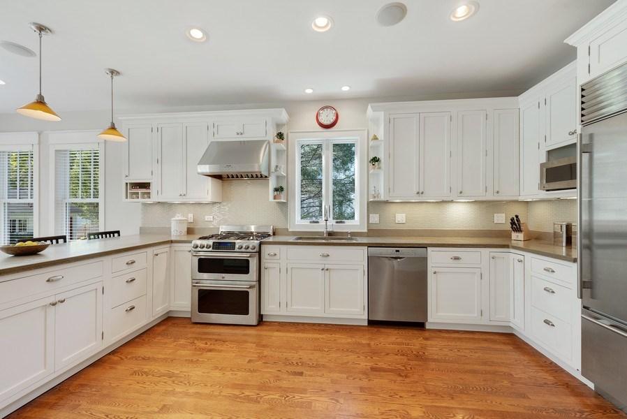 Real Estate Photography - 1623 Washington Ave, Wilmette, IL, 60091 - Kitchen