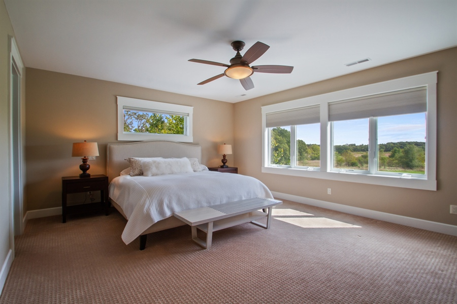 Real Estate Photography - N8925 Tamarack, Whitewater, WI, 53190 - Master Bedroom