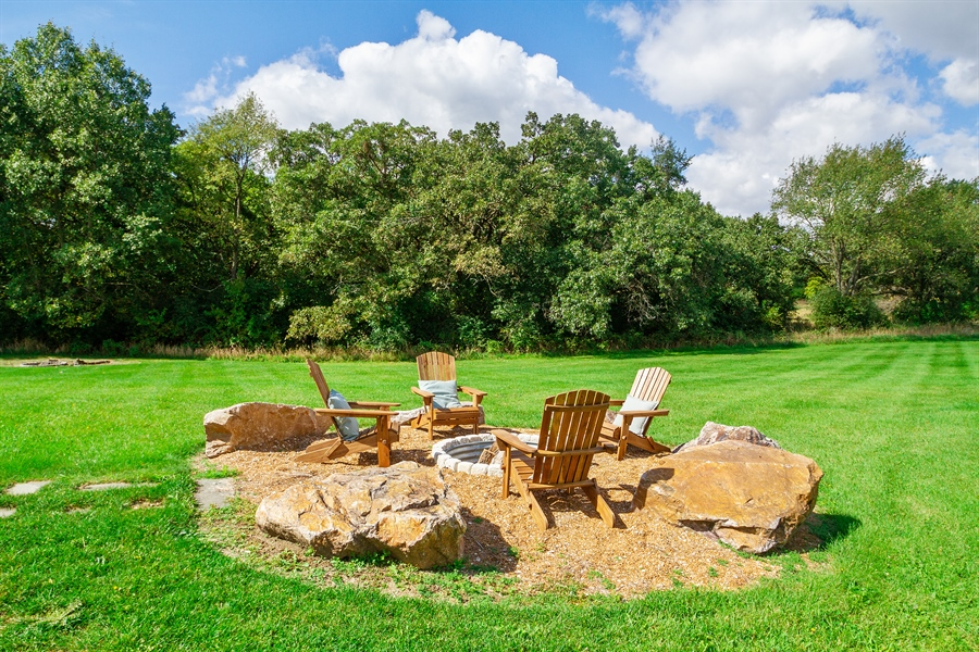 Real Estate Photography - N8925 Tamarack, Whitewater, WI, 53190 - Back Yard