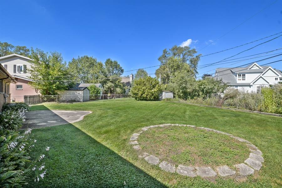Real Estate Photography - 1217 N Chicago Ave, Arlington Heights, IL, 60004 - Back Yard