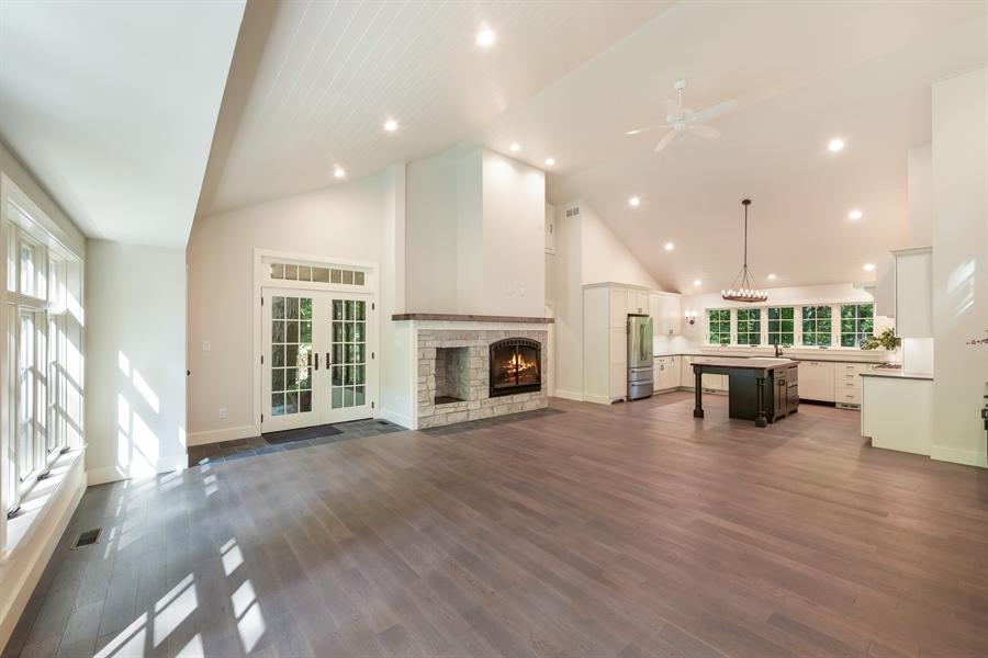 Real Estate Photography - 9291 Sunset Lane, Lakeside, MI, 49116 - Kitchen / Living Room