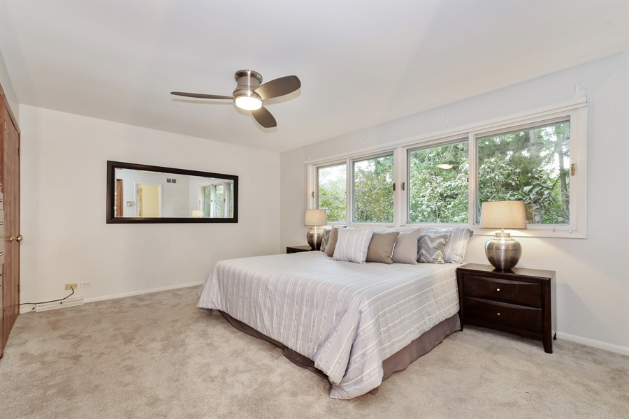 Real Estate Photography - 383 Seven Pines, Highland Park, IL, 60035 - Master Bedroom