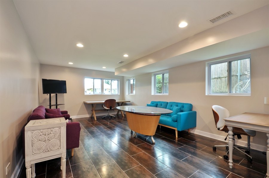 Real Estate Photography - 7200 Lyons St, Morton Grove, IL, 60053 - Lower Level