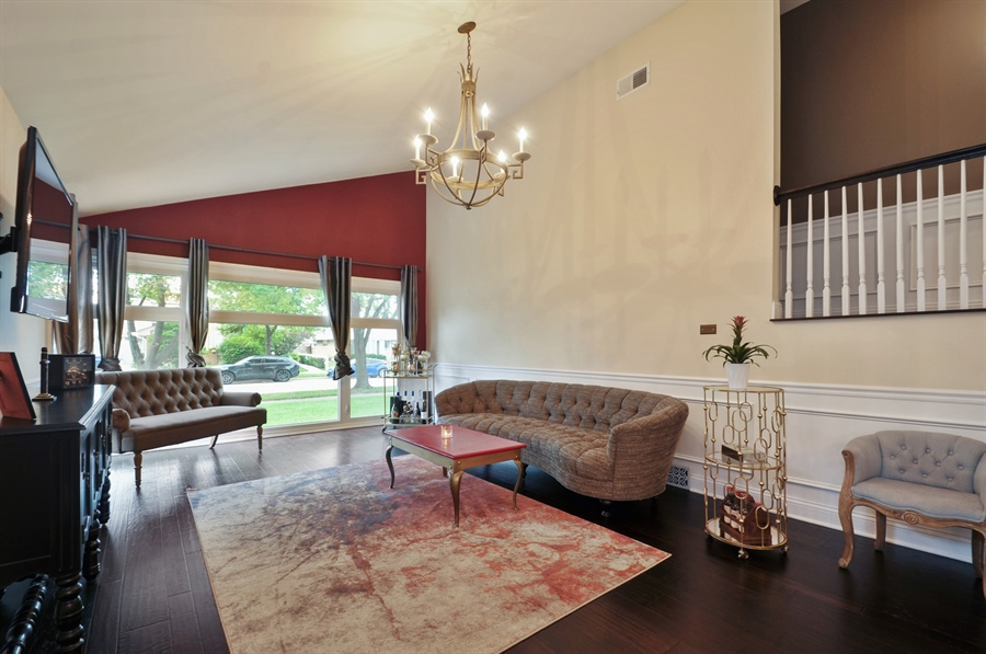 Real Estate Photography - 7200 Lyons St, Morton Grove, IL, 60053 - Living Room