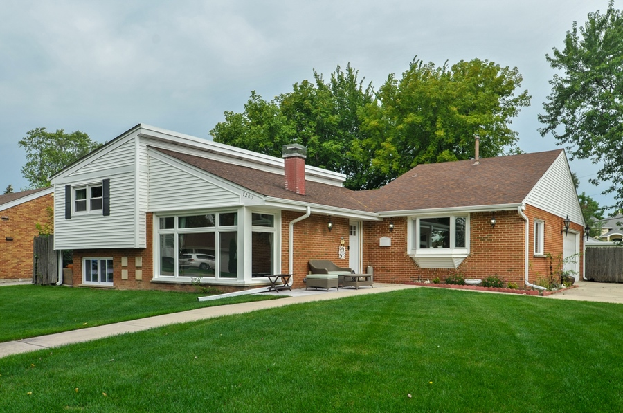 Real Estate Photography - 7200 Lyons St, Morton Grove, IL, 60053 - Front View