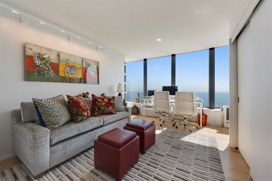 Real Estate Photography - 505 N. Lake Shore Drive, 6010, Chicago, IL, 60611 - Guest/2nd Bedroom