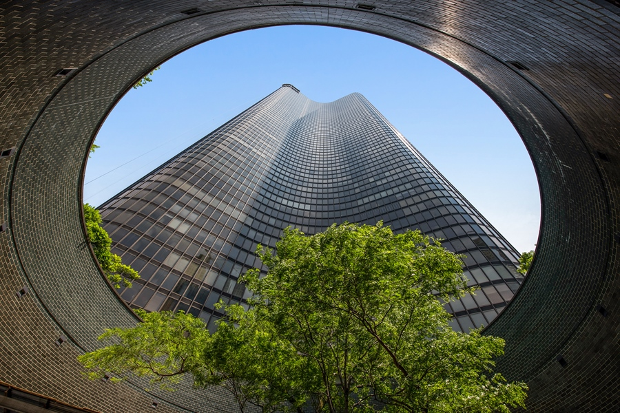 Real Estate Photography - 505 N. Lake Shore Drive, 6010, Chicago, IL, 60611 - Front View