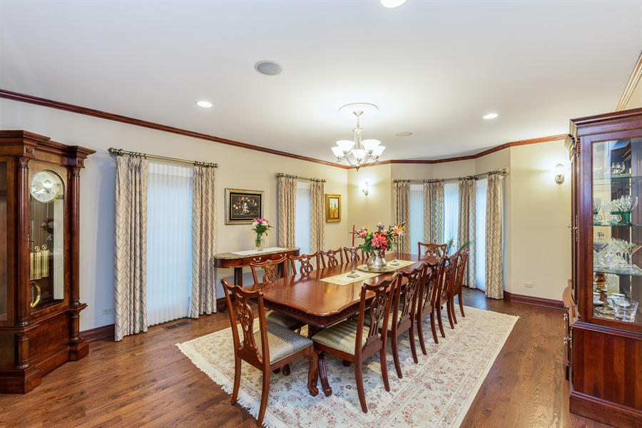Real Estate Photography - 9681 Elms Terr, Des Plaines, IL, 60016 - Dining Room
