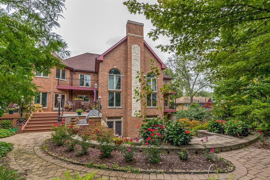 Real Estate Photography - 9681 Elms Terr, Des Plaines, IL, 60016 - Rear View