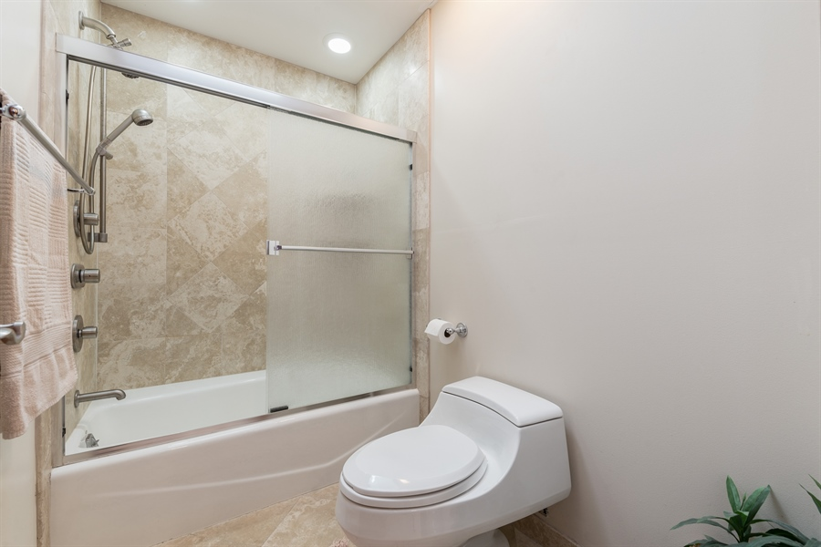 Real Estate Photography - 9681 Elms Terr, Des Plaines, IL, 60016 - Bathroom