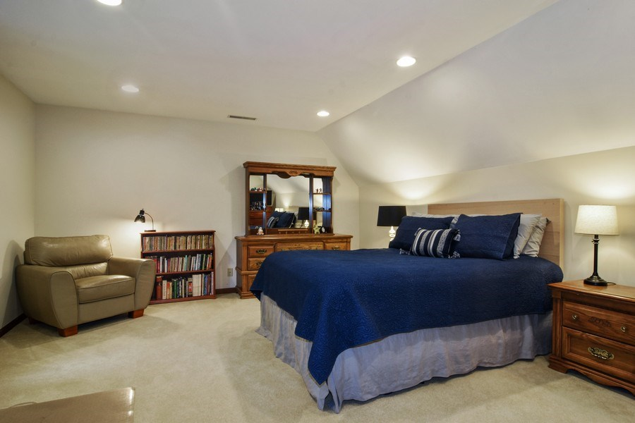 Real Estate Photography - 26541 Pond Shore, Wauconda, IL, 60084 - 3rd Bedroom