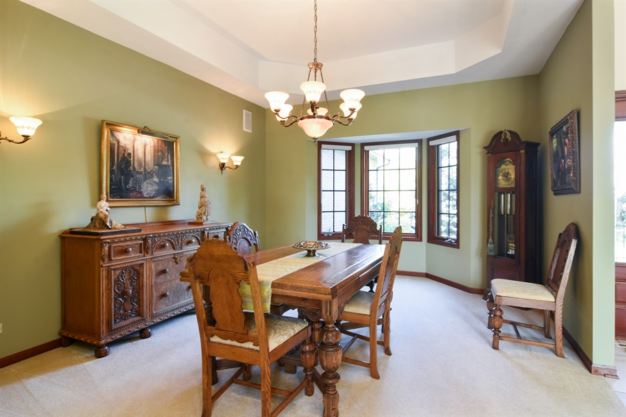 Real Estate Photography - 26541 Pond Shore, Wauconda, IL, 60084 - Dining Room
