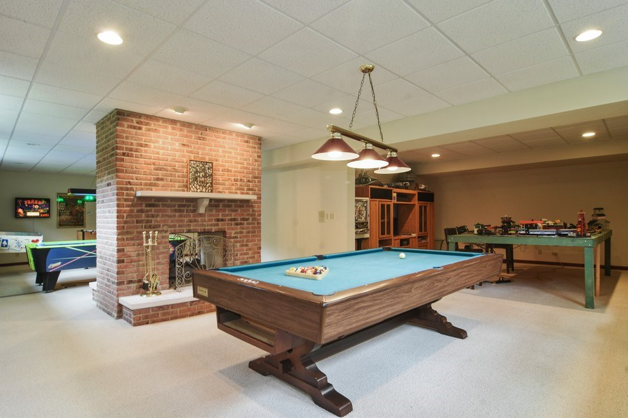 Real Estate Photography - 26541 Pond Shore, Wauconda, IL, 60084 - Basement