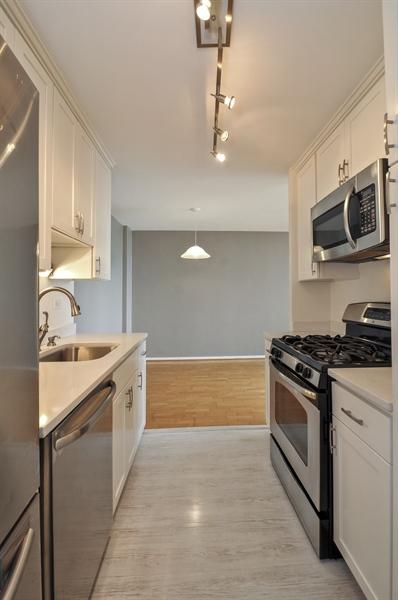 Real Estate Photography - 3430 Lake Shore Dr., 12M, Chicago, IL, 60657 - Kitchen