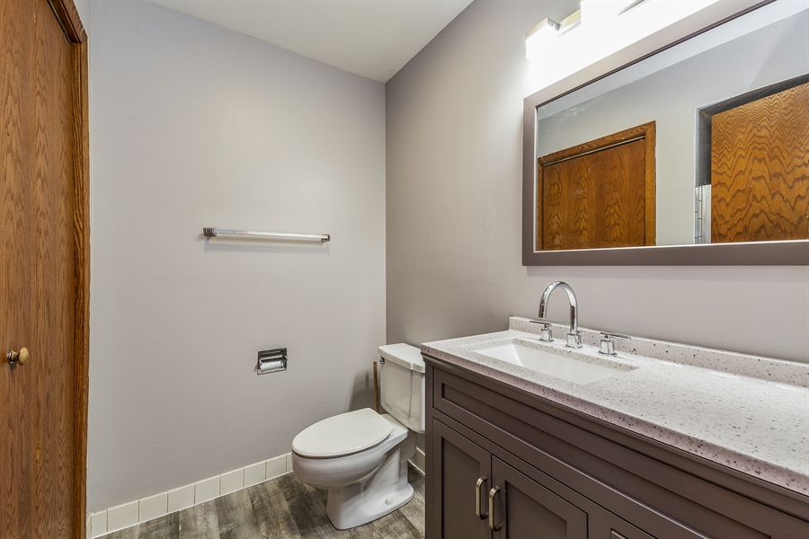 Real Estate Photography - 1660 S Mannheim road, westchester, IL, 60154 - Master Bathroom