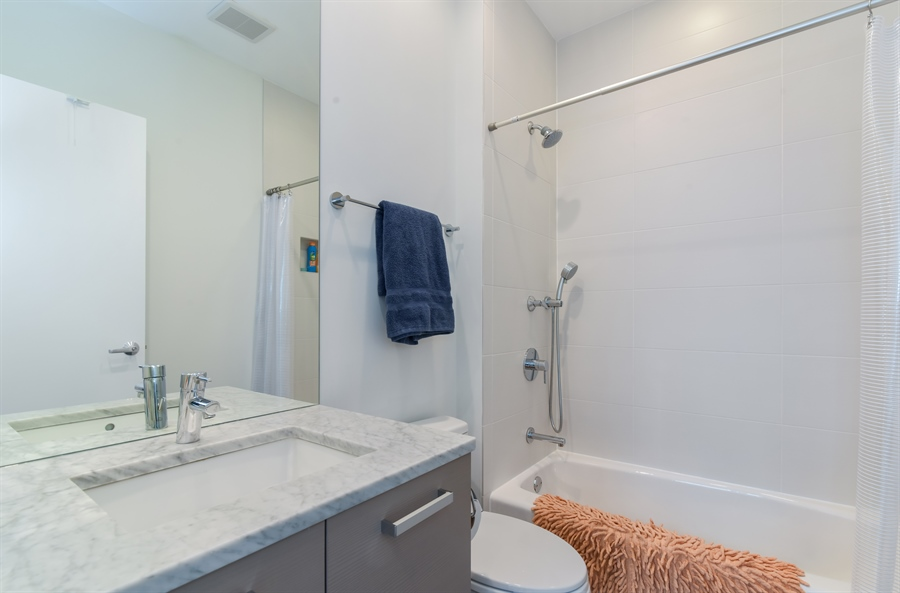 Real Estate Photography - 1534 W Montana, Chicago, IL, 60614 - 3rd Bathroom