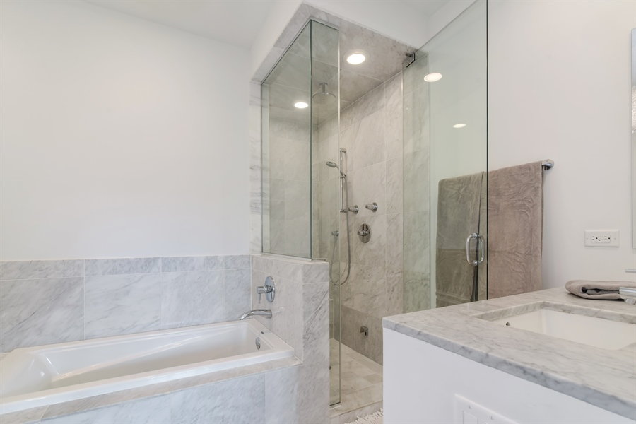 Real Estate Photography - 1534 W Montana, Chicago, IL, 60614 - Master Bathroom